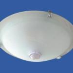 Plafoniera cu senzor de lumina